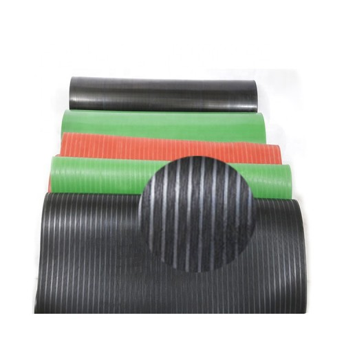 High quality Dielectric Mat saftey Insulated Rubber Floor Matting electrical Insulation rubber sheet