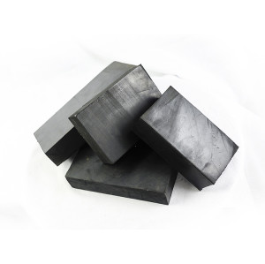 Custom processing machine noise reduction Shock absorption nitrile rubber block