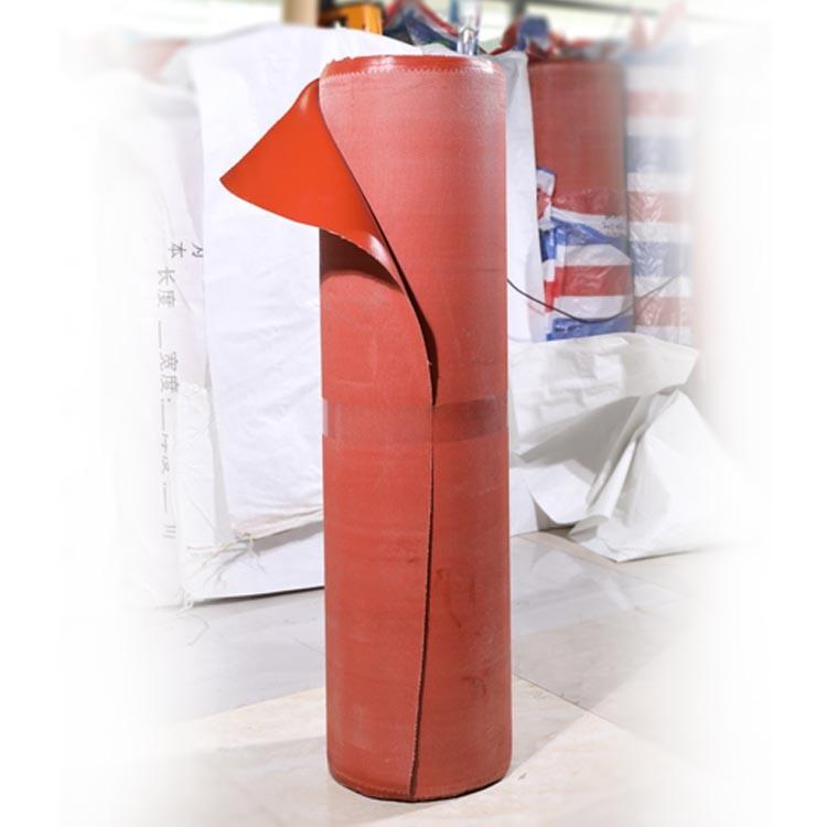 Chinese silica-gel Heat Fireproof Insulation Silicone Fiberglass Cloth