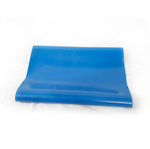 Tapis de table en caoutchouc esd bleu anti-corrosion fatigue de 3mm