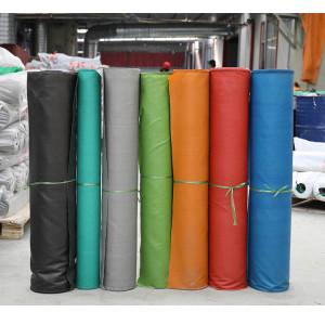 Hochtemperaturschutz Isolierung PVC-beschichtetes Glasfasergewebe feuerfest