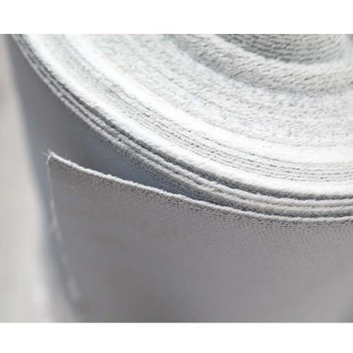 ارتفاع درجة الحرارة حماية العزل البلاستيكية المغلفة الألياف الزجاجية النسيج النار دليل