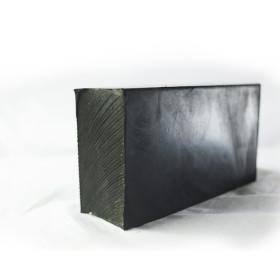 Réduction de bruit de machine de traitement personnalisée bloc caoutchouc d'absorption des chocs