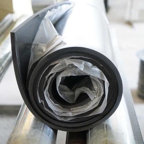 حار بيع الأسود مكافحة الشيخوخة FKM النفط ختم الفلور المطاط الصناعي ورقة