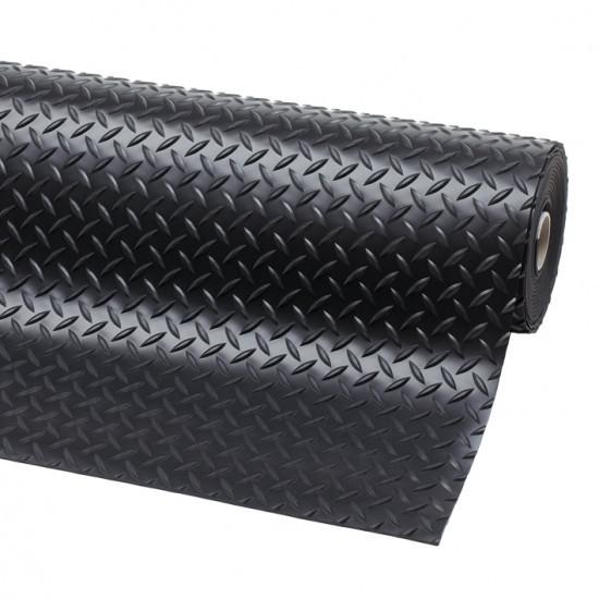 Feuille en caoutchouc de vérificateur antidérapant de 3mm * 1m 50kg pour le plancher