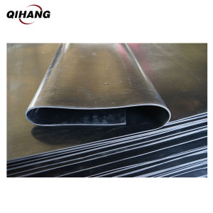 2mm Weather Resistant Waterproof Black Epdm Thin Rubber Sheet
