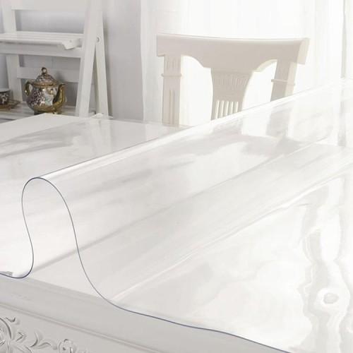 لوحة الكريستال للماء واضح الزجاج الناعمة البلاستيكية الجدول القماش الشفاف