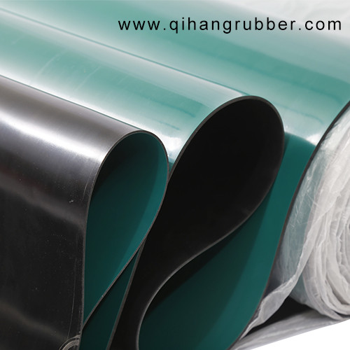 Washable and smooth 2mm 3mm 5mm ESD Anti static Rubber Sheet