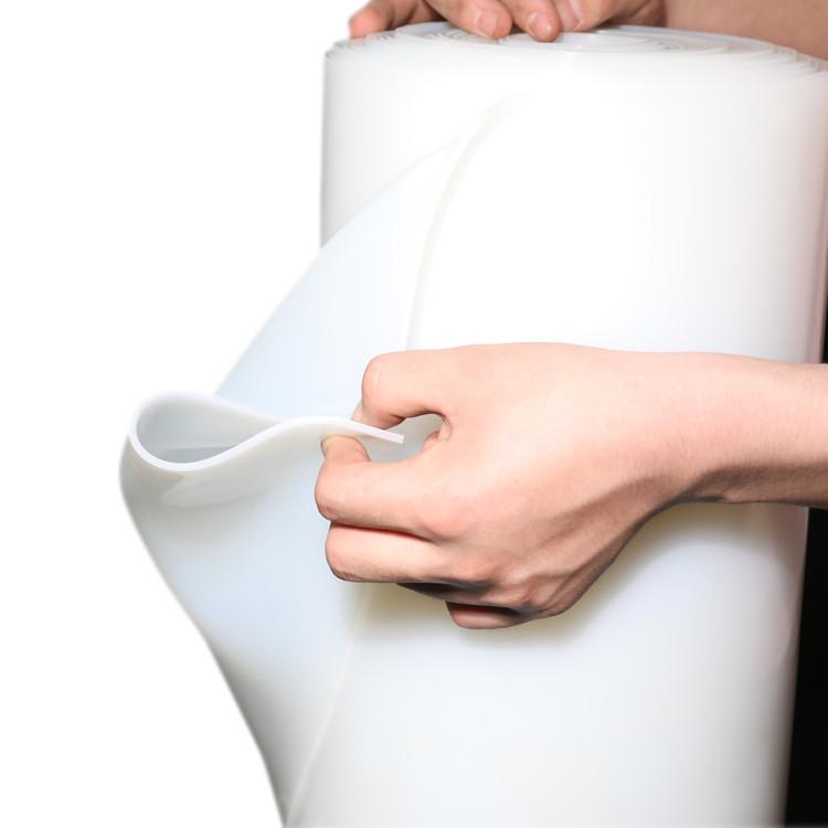 Translucent silicone sheet