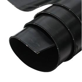 Hochwertige CI-verstärkte schwarze Gummiplatte mit Stoffeinlage