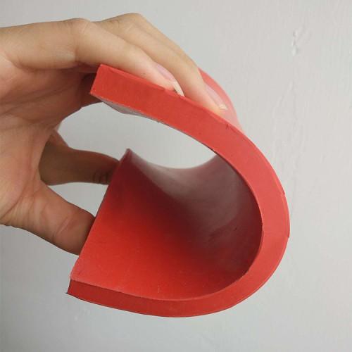 40A التحمل ، السلس النهاية ، لا دعم ، ورقة المطاط الطبيعي الأحمر (الصمغ)