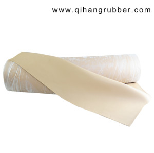 45A  Smooth Finish, Beige  NR Natural latex rubber Sheet(10m×1m×3mm)