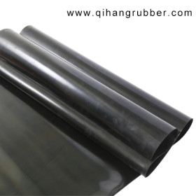 Oil resistant 75 - 80 DUROMETER VITON/ FKM/ FPM RUBBER SHEET in stock