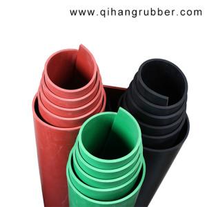 5kv, 10kv, 35kv Neopren elektrische schwarze Gummi-Isolationsfolie Rolle