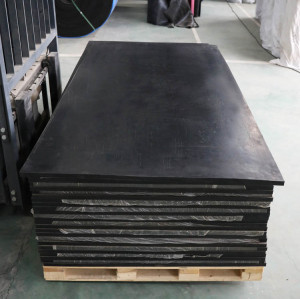 1m×2m×1 inch shock absorbing types of rubber sheets manufacturers