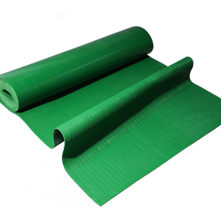 grünes Wellblech