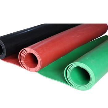 سهل الأرضيات ورقة المطاط الأحمر ، لحماية الأرض