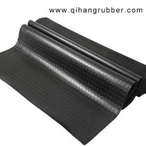 Schwarz 3mm - 8mm Rutschfeste Gummimatten mit Standardgröße auf Lager