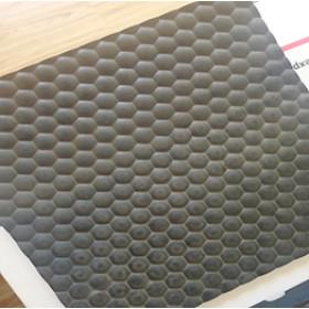 Rutschfeste schwarze Farbe 4 x 6 Kuhgummimatten für Schuppen
