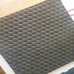 المضادة للانزلاق اللون الأسود 4 × 6 الحصير الأرضيات المطاطية للبقرة