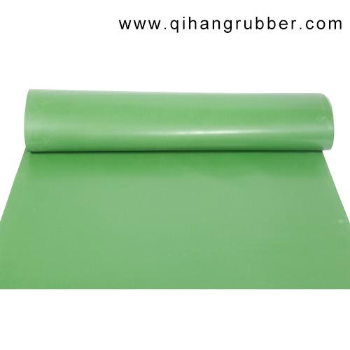 ارتداء مقاومة للماء دليل 2 ملليمتر سميكة ورقة المطاط الأخضر