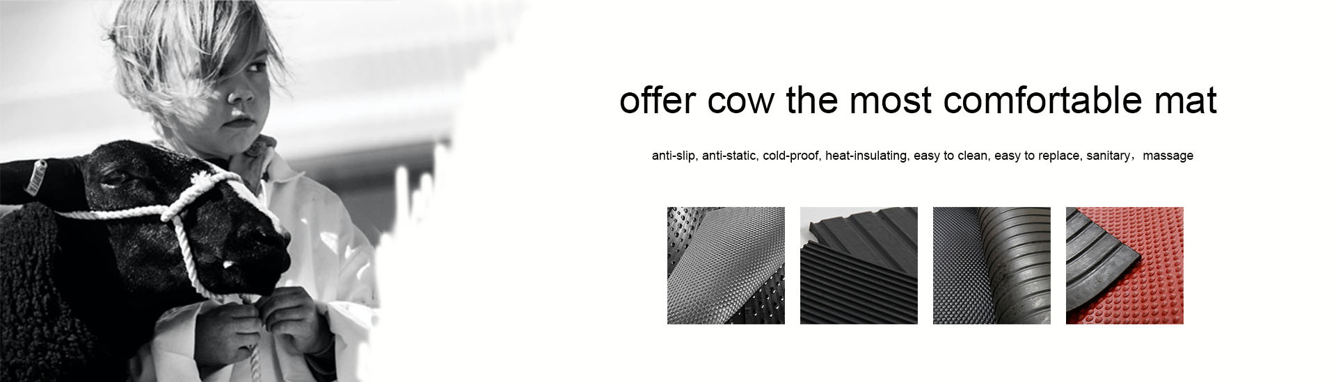 Anti Fatigue Cow Matting Rubber Cushion for horse stable mat cow mattress