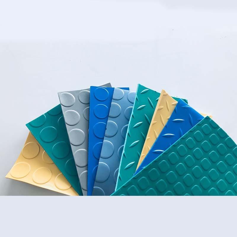 pvc Non slip rubber floor mat
