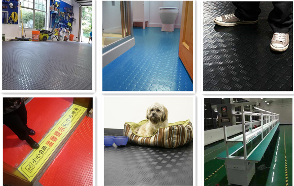 Floor protection mat 's function
