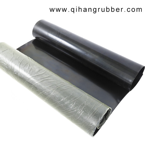 35-40 shore A 1.5mm high elastic black natural rubber sheet for industry