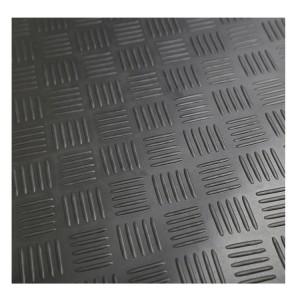 3 mm bis 8 mm Dicke Diamond Willow Leaf Ribbed Checker Plate Gummiplatte Bodenmatte Gummirollen