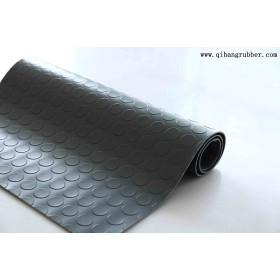 Production of cheap non-slip round button coin rubber sheet