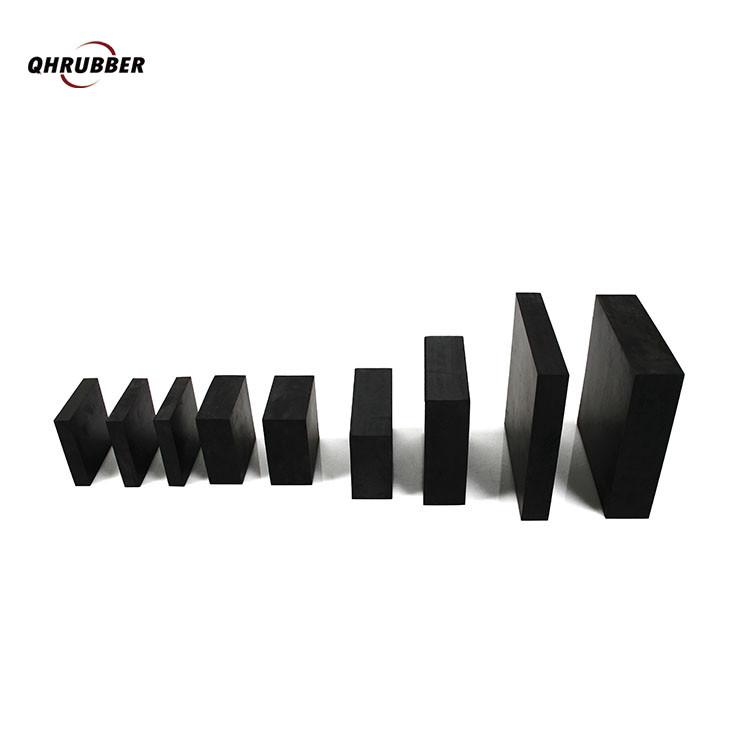Custom thickened cushion rubber cushion mat damping industrial Rubber block