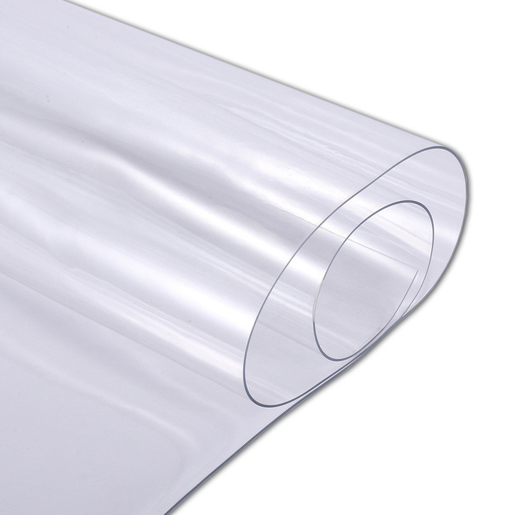 5MM لينة فيلم بولي كلوريد الفينيل شفافة للحصول على غطاء الطاولة / مفرش المائدة