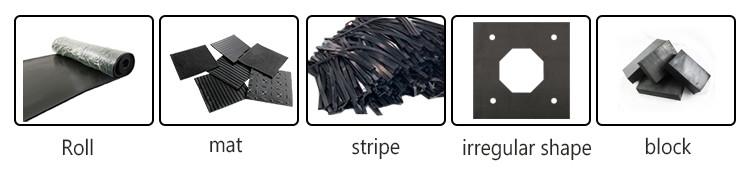 2mm Weather Resistant Waterproof Black Epdm Thin Rubber Sheet