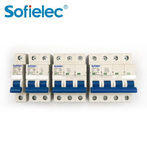 10kA JVM16-63 10KA 1P IEC 60898 circuit breaker with CE approval