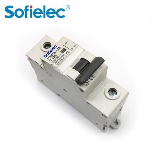 10kA JVM16-125 China factory make 3 phase 100A miniature circuit breaker