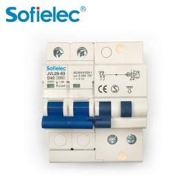 JVL29-63 Italy Hot Sale residual circuit breaker 1P+N RCBO A type