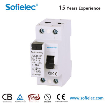 6kA JVL15-63 factory direct sales high quality 6.2kV 16 mcb circuit breaker
