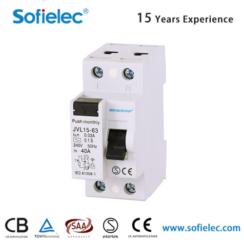 6kA JVL15-63 factory direct sales high quality 6.2kV 16 mcb circuit breaker