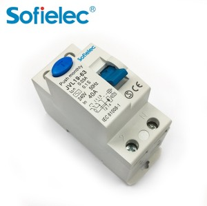 4.5kA JVL19-63 Sofielec Economic RCCB pin/fork busbar connection A,AC type Residual Current Circuit Breaker