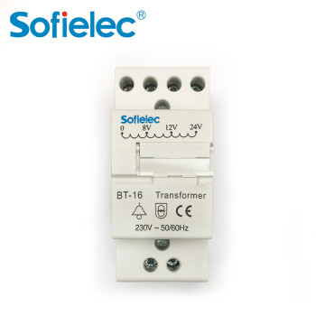 BT8-16 8-24V Bell transformer work with Circuit breaker