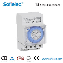 SUL 18 1h 220V-240V 16(4)A 24 Hours time switch