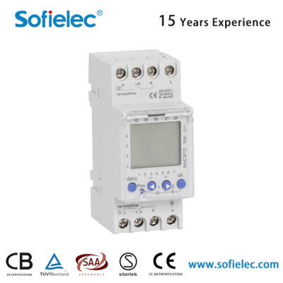 AHC812 240V digital time switch