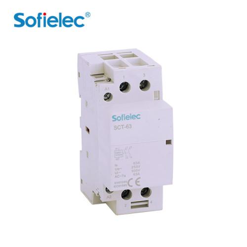 SCT-63 Modular DIN rail Contactor