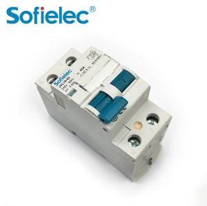10kA JVL16-63 63A Rated current residual current rccb circuit breaker