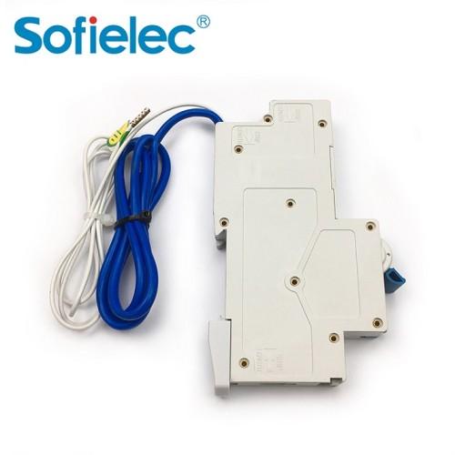 10kA JVL11 UK Mini hot sale 1pn 30ma 16amp rcbo circuit breaker
