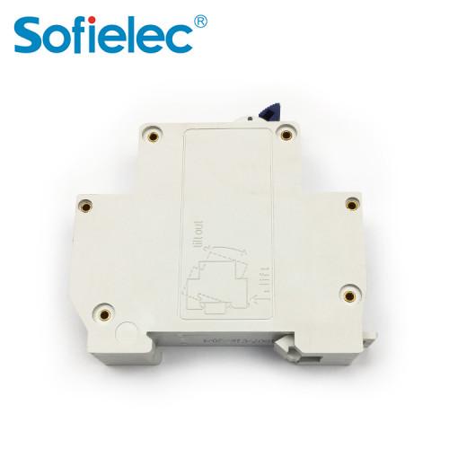 6kA JVM6-32 Factory OEM make 1P+N 25A DPN circuit breaker switch CE approval