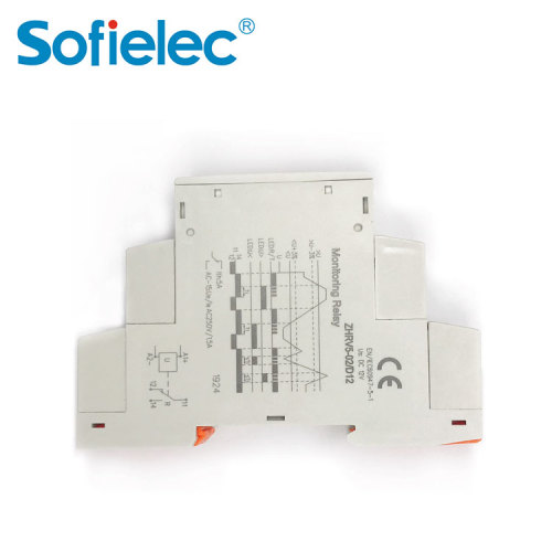 ZHRV5-01 Sofielec under over voltage control,cnc phase sequence module device relay