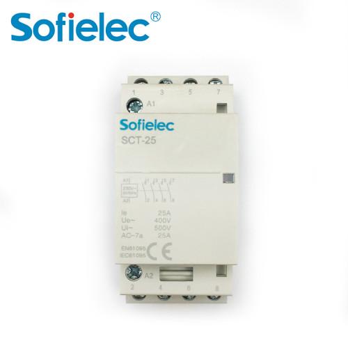 SCT-25 Modular DIN rail Contactor