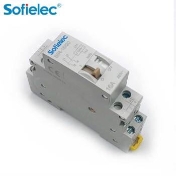 Din impulse latching relay, dual stable status, France hot selling, with CE CB, mini mechanical